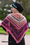 Breezy and Colorful Summer Shawl free crochet pattern